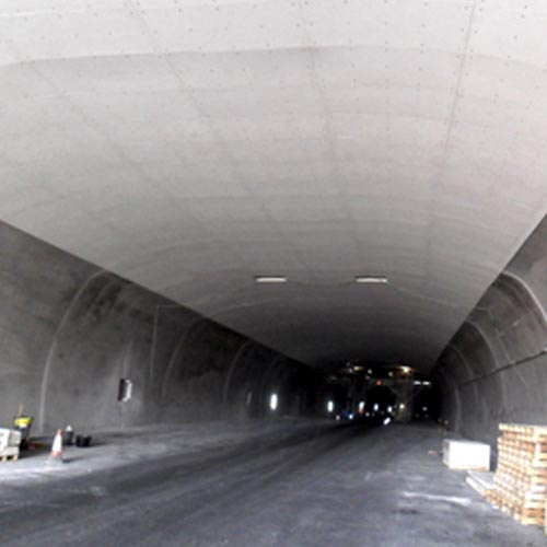 Passive fire protection in tunnels and civil infrastructures guarantee security to people
